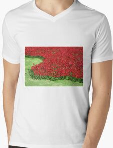The Tower of London Remembers WWI Mens V-Neck T-Shirt