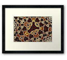 Geometric Patterns No. 60 Framed Print