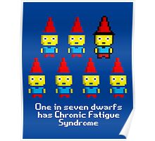 One in 7 dwarfs has Chronic Fatigue Syndrome Poster