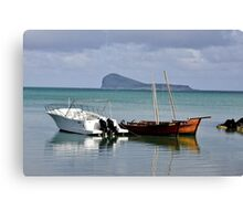 Lux - Grand Gaube #1 - The Mauritius Collection Canvas Print