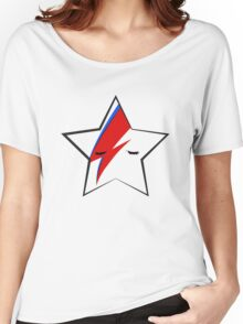 BOWIE STARFACE Women's Relaxed Fit T-Shirt