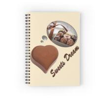 sweets dreams their sweet dreams - praline Spiral Notebook