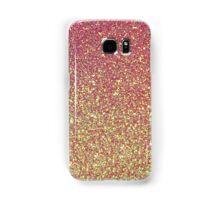 Pink Gold Glitter Texture Samsung Galaxy Case/Skin