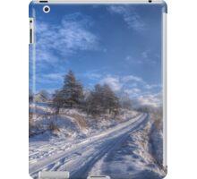 Wintry Road iPad Case/Skin