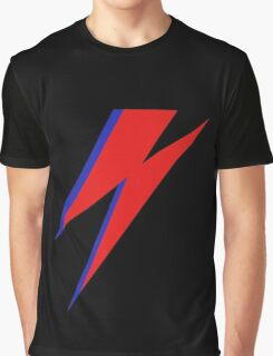 DAVID BOWIE LIGHTENING Graphic T-Shirt