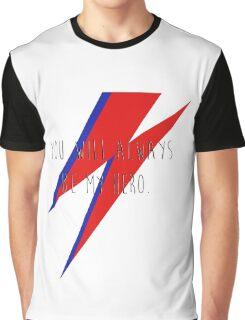 DAVID BOWIE HERO Graphic T-Shirt