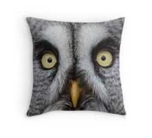 Face of the 'Phantom of the North' Throw Pillow