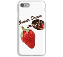 sweets dreams their sweet dreams - strawberry iPhone Case/Skin