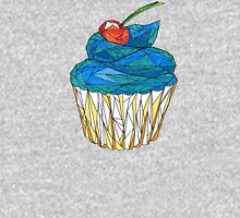 sweet muffin with cherry  Womens Fitted T-Shirt