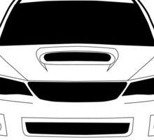 '6 Speed Broken? We Don't Have Those Problems Here.' - Subaru WRX STI Gag Sticker / Tee Sticker