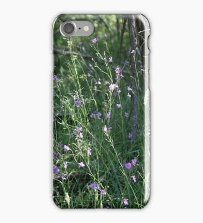 A field of Chocolate lilies  iPhone Case/Skin