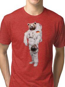 SPACE BEAR Tri-blend T-Shirt