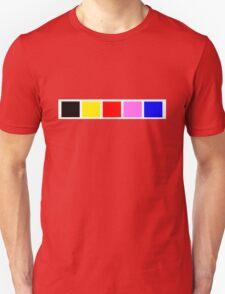 Power Rangers In Space 1 Unisex T-Shirt