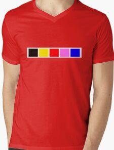 Power Rangers In Space 1 Mens V-Neck T-Shirt