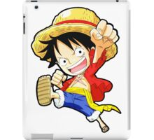 chibi luffy iPad Case/Skin