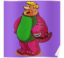 Barney Unmasked Poster