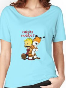 Calvin And doll hobbes Women's Relaxed Fit T-Shirt