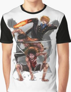 sanji Graphic T-Shirt