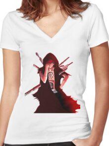 sasori Women's Fitted V-Neck T-Shirt