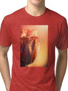 Sun Rays Flower Tri-blend T-Shirt
