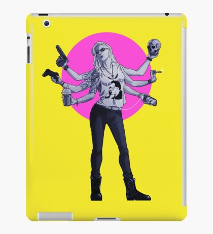 Cool Grrl iPad Case/Skin