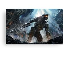 spartan chief  Canvas Print