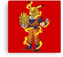 Goku Super Saiyan Unmasked Canvas Print