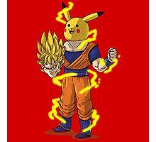 Goku Super Saiyan Unmasked Photographic Print