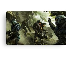 noble team  Canvas Print