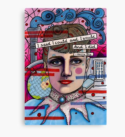 Nellie Bly Canvas Print