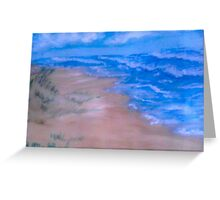 Small Seaside Dune Greeting Card
