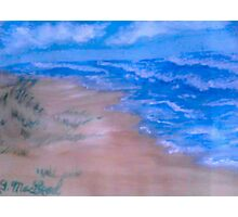 Small Seaside Dune Photographic Print