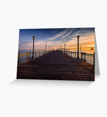 Pier 7 Greeting Card