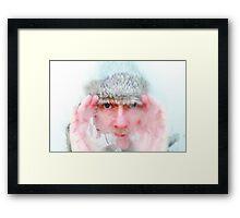 Winter Man Framed Print