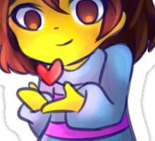 Undertale - Frisk cute Sticker