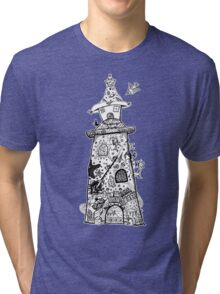 There's a Lighthouse in there Somewhere! Tri-blend T-Shirt
