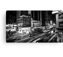 Mong Kok traffic scene Canvas Print