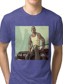 gta san andreas Tri-blend T-Shirt