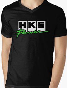 HKS Mens V-Neck T-Shirt