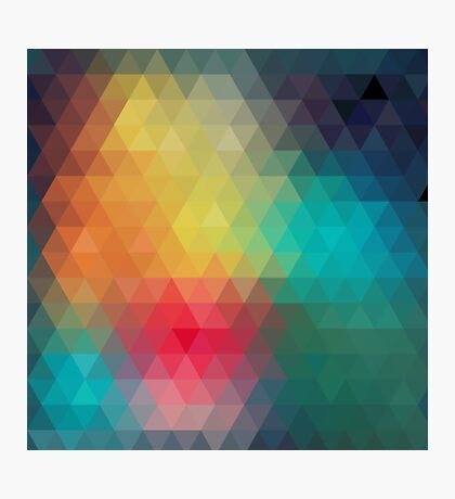 cool abstract design Photographic Print