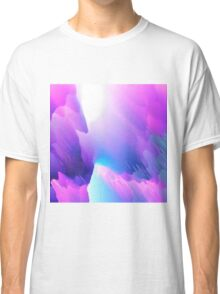 cool abstract design purple Classic T-Shirt