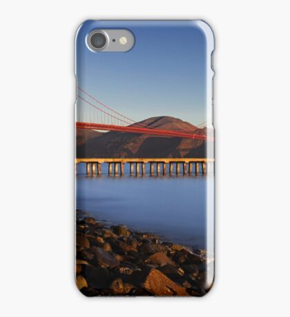 Fisherman at the bridge iPhone Case/Skin