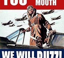 world war 2 poster: buzz by buzzstark