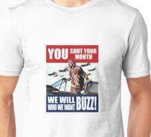 world war 2 poster: buzz Unisex T-Shirt