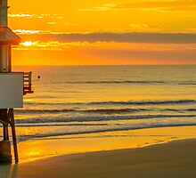 Daytona Beach Sunrise by Karl F Davis