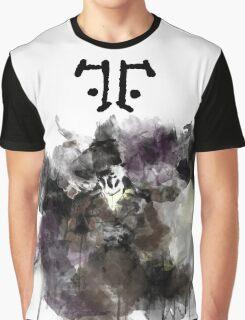 Watchmen- Rorschach Watercolor Portrait Graphic T-Shirt