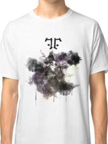 Watchmen- Rorschach Watercolor Portrait Classic T-Shirt
