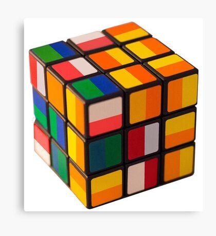 Cube toy Canvas Print