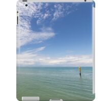 Where the Sea Touches the Sky iPad Case/Skin
