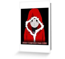 Christmas ANBU Greeting Card
